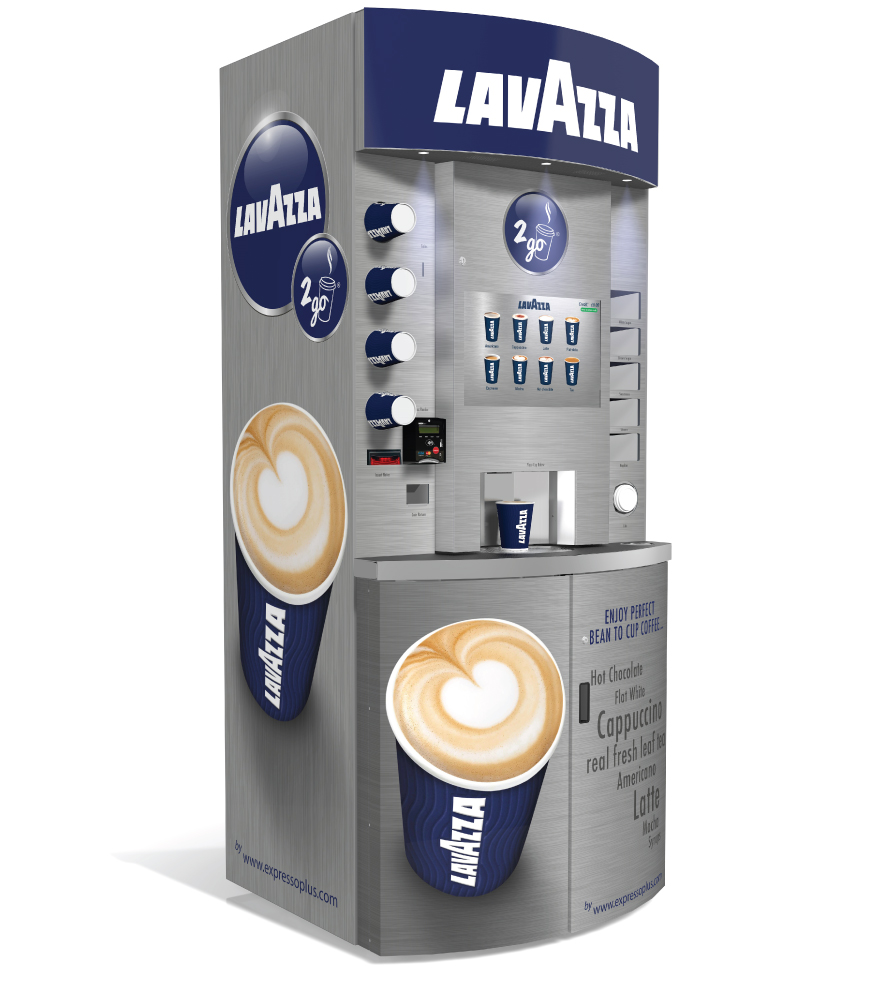 lavazza eleganza | coffee towers