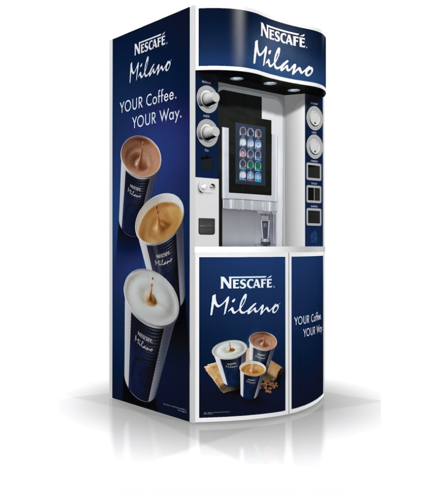 Nescafe Milano Lounge Tower Coffee To Go Machines Hot