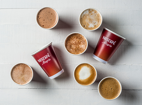 Nescafé Alegria Coffee Cups