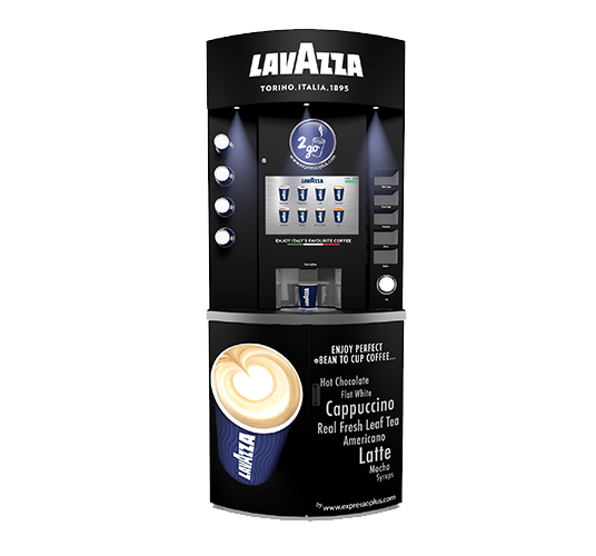 Lavazza Eleganza Coffee Vending Machine