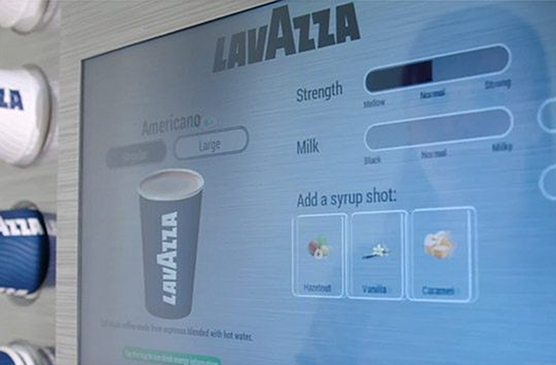 Lavazza Eleganza Bean to Cup Coffee Machine -  Hot Drinks Options