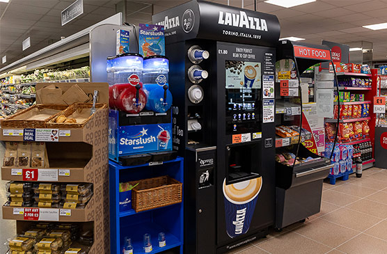 Custom commercial coffee machine solutions for education sector