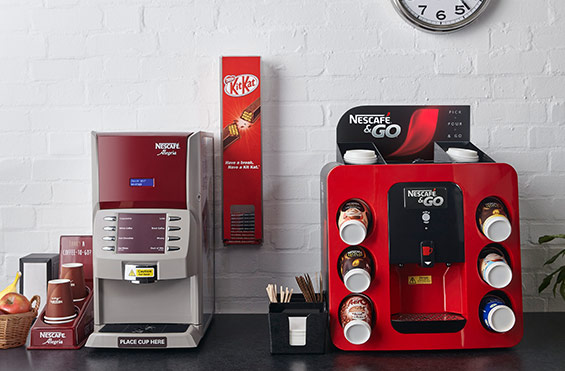Nescafé & Go Hot Drinks Vending Machine