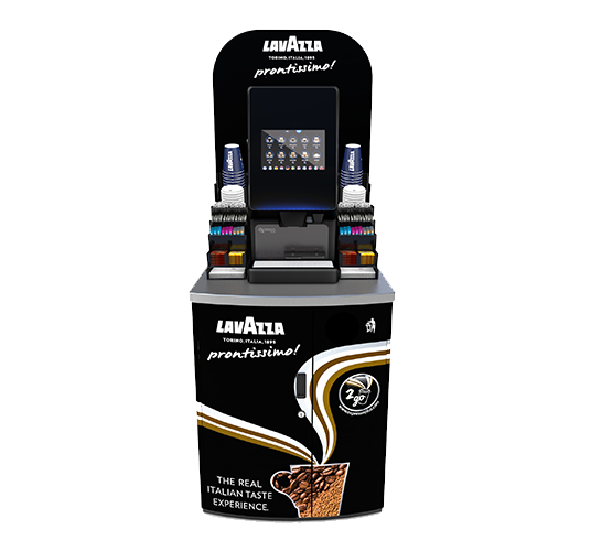 Prontissimo Piccolo P Coffee Vending Machine