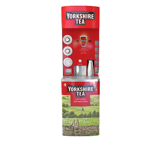 Yorkshire Tea To Go Coffee Vending Machine