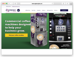 New Look For Superior Coffee2Go Solutions Specialist eXpresso PLUS