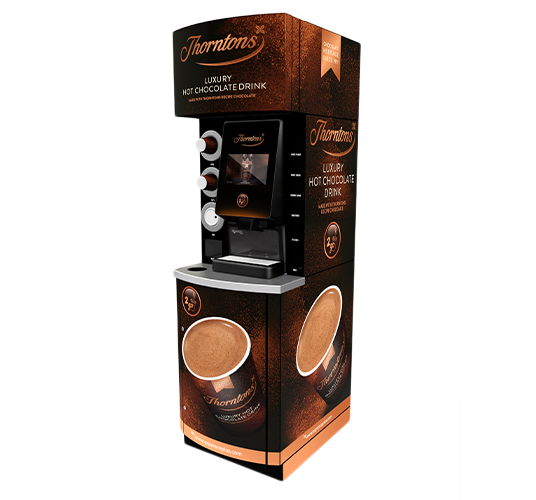 Thorntons Nano Hot Chocolate Coffee Vending Machine