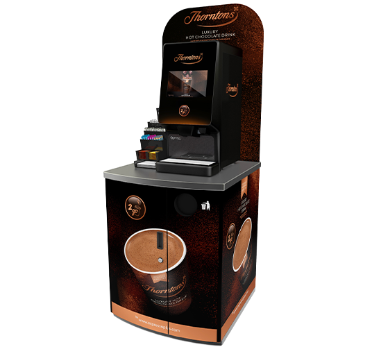 Thorntons Piccolo Hot Chocolate Coffee Vending Machine