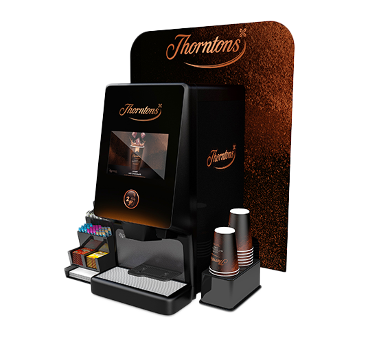 Thorntons Futuro Hot Chocolate Coffee Vending Machine
