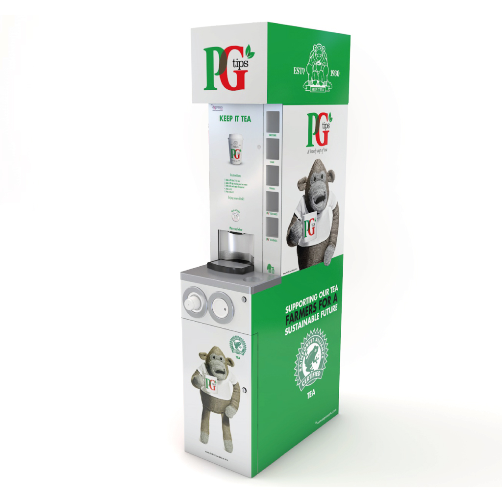 PG tips to go nano machine | eXpresso PLUS