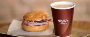 Nestle's research into coffee in the bakery market