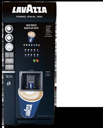 Lavazza Lusso Coffee Vending Machine