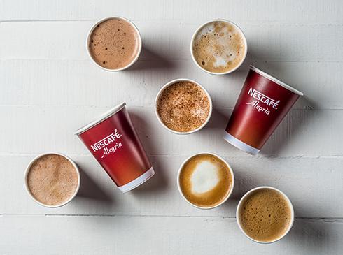 Nescafé Alegria Coffee Cups