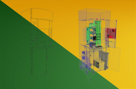 Designing a commercial coffee machine solution