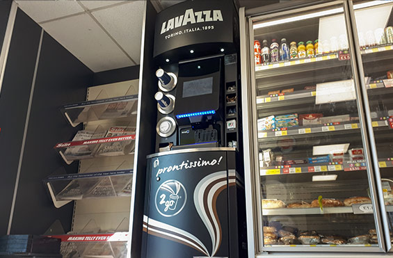 Custom coffee vending solution