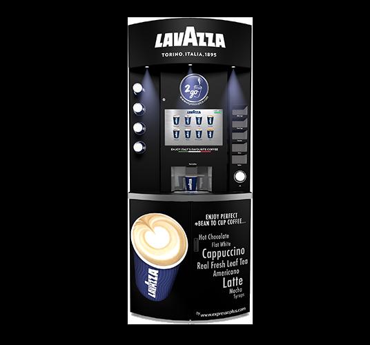 Lavazza Eleganza Coffee Vending Machine