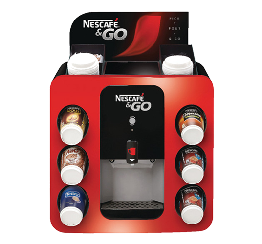 Nescafé & Go Coffee Vending Machine