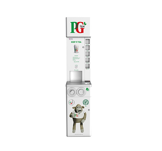 PG tips To Go Coffee Vending Machine