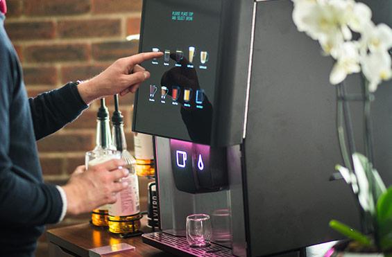 Lavazza Siena Espresso Bean to Cup Coffee Vending Machine