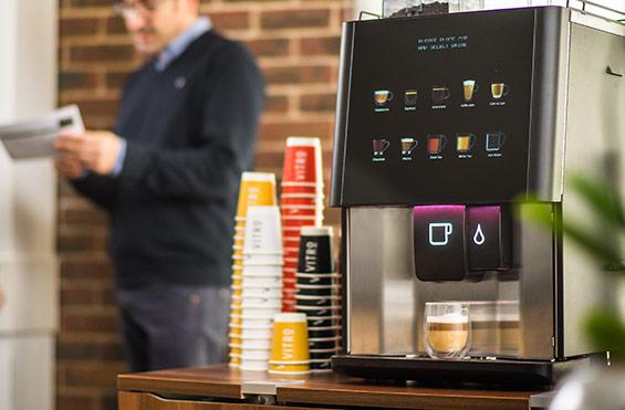Sienna Prontissimo Coffee Vending Machine